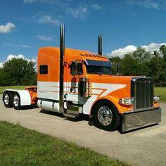 Nicely done, simple and clean looking Pete Show Trucks, Big Rig Trucks, Dump Trucks, Old Trucks, Pickup Trucks, Custom Big Rigs, Custom Trucks, Diesel Trucks, Peterbilt Trucks