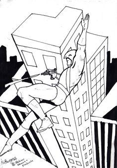 Kestrel Ultraheroes art by Julie Howlin.