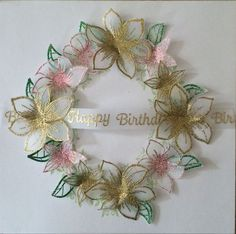 Honey Doo Crafts Acrylic Stamps - Sample Gallery Flower Cards, Paper Flowers, Honey Doo Crafts, Crafts To Do, Paper Crafts, Rubber Stamping Techniques, Tattered Lace Cards, Parchment Cards, Embossed Cards