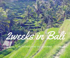 2 weeks Bali