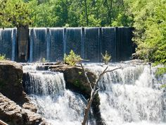 De Soto State Park, an Alabama State Park located nearby Fort Payne