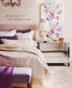33 Glamorous Bedroom Design Ideas