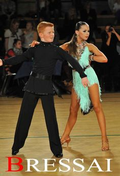 Wow, she's looks so adult-like. I only knew this is a young couple because he still looks like a handsome young man, She looks too grown up :(. Latin Ballroom Dresses, Ballroom Dancing, Latin Dresses, Tap Costumes, Ballroom Costumes, Samba Dance, Tango Dance, Jazz Dance, Salsa Dress