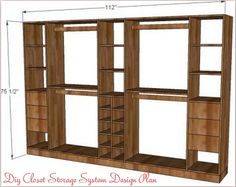 Diy Closet Organizer | DIY Closet Storage System 1024x813 My Dream Closet  Vision Board