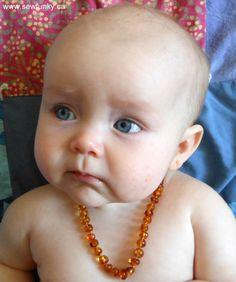 Baltic Amber Teething Necklaces - Fake vs Real Amber - Salt Water Test