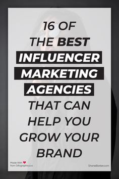 Here are some of the best influencer marketing agencies that you should partner with for your next influencer marketing campaign. #influencers #influencermarketing #marketing #digitalmarketing #branding #instagraminfluencers