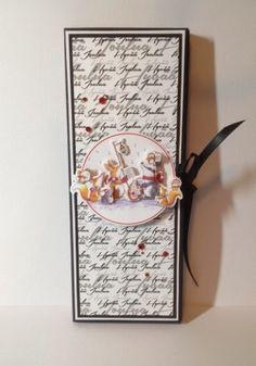Nurkkaanajettu Chocolate Card, Diy Crafts, Cards, Craft Ideas, Make Your Own, Homemade, Maps, Craft, Playing Cards