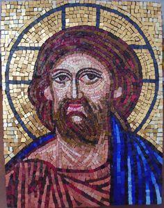 IN ARTE HASHIMOTO: Volto di Cristo in stile bizantino
