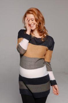 Pulls grossesse - Pull- robe de grossesse rayé  http://www.mammafashion.com/vetement-pulls_grossesse-femme-enceinte-las_vegas-2390.php