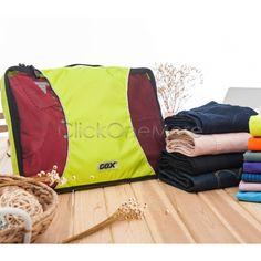 MX - Travel Storage Bag Clothes Pouch Organizer Storage Case Suitcase Handbag L