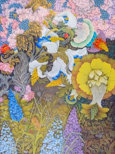 Image result for elena abessinova artist Pattern, Painting, Image, Artists, Idea Paint, Art Ideas, Painting Art, Paintings, Paint