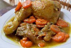 Ελληνικές συνταγές για νόστιμο, υγιεινό και οικονομικό φαγητό. Δοκιμάστε τες όλες Cookbook Recipes, Cooking Recipes, Weight Watchers Meals, Pot Roast, Chicken Wings, Chicken Recipes, Food And Drink, Beef, Ethnic Recipes