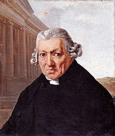 """""""Jean-Baptiste Ceineray, 1722-1811"""", Portrait de l'architecte-urbaniste nantais par Jean-Francois Sablet"""