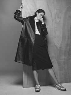 Lessons In Winter Outerwear: Carly Moore By Philip Messmann For Cr Fashion Book December 2014