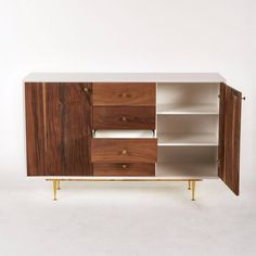 Cincinnati-B Cabinet - Off-White - Cabinets - Shelving & Cabinets - Living - HD Buttercup Online – No Ordinary Furniture Store – Los Angeles...