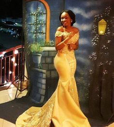 Plus Size Prom Dress, Sexy Gold Mermaid Off Shoulder Satin Beaded Long 2019 African American Prom Dress, Shop plus-sized prom dresses for curvy figures and plus-size party dresses. Ball gowns for prom in plus sizes and short plus-sized prom dresses African Lace Dresses, African Wedding Dress, African Fashion Dresses, Wedding Dresses, Beaded Dresses, Prom Gowns, Dress Fashion, Fashion Clothes, Fashion Outfits