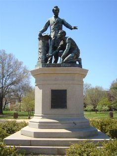 Lincoln Emancipation Monument  http://teachingamericanhistory.org/library/document/oration-in-memory-of-abraham-lincoln/