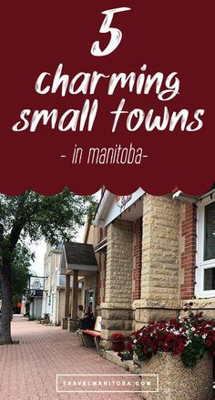 Love uncovering the small town gems of Manitoba? Wherever your next adventure takes you, plan to stop into one of these 5 adorable towns, communities and villages for a stroll, a bite to eat and a photo-op along the way.