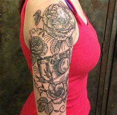 Sleeve girly tattoos - 50 Examples of Girly Tattoo  <3 <3