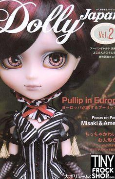Dolly Japan Magazine Volume 2 - Blythe, Barbie, Misaki, Pullip and More!