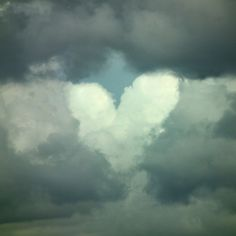 cloud heart I just saw one like this the other day