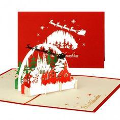 Pop-Up Karte Winterlandschaft #popupkarte #weihnachten #weihnachten2017 #popupcard #cologencards #klappkarte #christmas #weihnachtskarten #schneemann #winterlandscape #winterlandschaft #winterpanorama #festderliebe