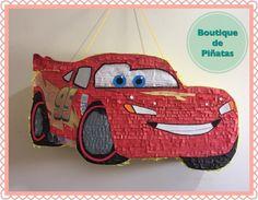 Rayo McQueen • Cars • Piñata • $580  | 2 días para hacerla + 5-6 días hábiles de envío a todo México |