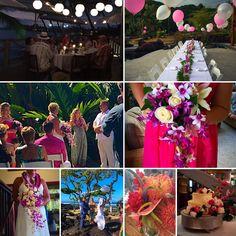 Kona Beaches, Kona Coast, Beach Weddings, Hawaii Wedding, Big Island, Hawaiian, Table Decorations, Elegant, Simple