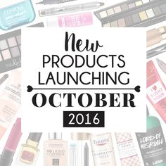 Products Popping Up - October 2016 - Pink Peonies Pink Peonies, Pop Up, Projects To Try, October, Product Launch, Cosmetics, Blog, Products