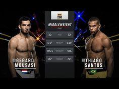 UFC (Ultimate Fighting Championship): Fight Night Belfast Free Fight: Gegard Mousasi vs Thiago Santos