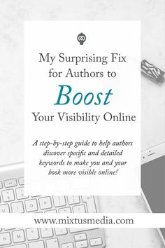 A step-by-step guide to help authors discover specific and detailed keywords to make you and your book more visible online! This is fantastic, thank you! Fiction Writing, Writing Quotes, Writing A Book, Writing Prompts, Editing Writing, Writing Advice, Blog Writing, Writing Desk, Print On Demand
