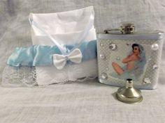 Pin Up Rhinestone 'Blushing Bride'  Lace by CrazyJanesCustoms