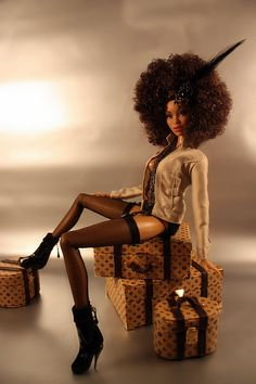 Super-Mom Creates Black Dolls With Natural Hair