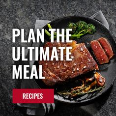 SRF American Wagyu Beef, Roasts, and Steaks Online Steak And Mushrooms, Stuffed Mushrooms, Wagyu Beef, Roasts, Steaks, Food Hacks, Ham, American, Desserts