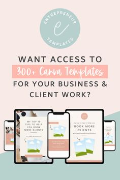Get access to over 300+ Canva Templates (plus 20+ more every month you are a member!). The great part is that these beautiful graphic design resources can be used for your business and for client work. #Canva #graphicdesign #entrepreneurtips #virtualassistants #businessresources Social Media Content, Social Media Tips, Social Media Marketing, Email Marketing, Business Planning, Business Tips, Online Business, Marketing Channel, Online Marketing Strategies