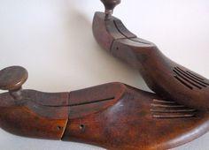 Vintage Shoe Forms by Cross & Cross $25