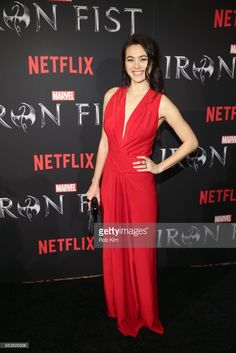 Jessica Henwick attends Marvel's 'Iron Fist' New York Screening at AMC Empire 25 Times Square on March 2017 in New York City. Iron Fist Tv Series, Jessica Henwick, Emelia Clarke, Iron Fist Marvel, Gorgeous Women, Beautiful, Daredevil, Times Square, Oc
