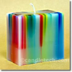 Rainbow Pillars : Candle & Soap Making Techniques