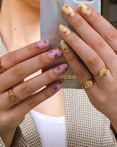 Nail Design Stiletto, Nail Design Glitter, Stylish Nails, Trendy Nails, Nagellack Design, Nail Jewelry, Jewellery, Funky Nails, Fire Nails