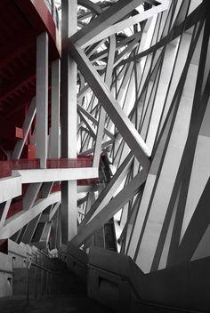 Andreas Gursky: entre la masa y el detalle. | Líneas sobre arte