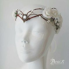 tiara elfica tiara novia corona hada
