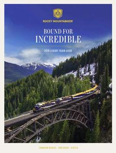 Canadian Rocky Mountaineer train vacations - Home Decoration Vacation Destinations, Vacation Spots, Vacation Ideas, Places To Travel, Places To Go, Travel Things, Rocky Mountaineer Train, Simplon Orient Express, Train Vacations
