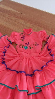 Vestido escaramuza Tecoman