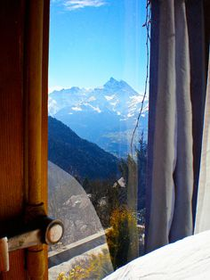 Room with a View // Gryon, Switzerland