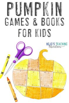 This blog post is full of great math and literacy activities for the entire fall seasons. Kids love pumpkins, so use that to your advantage! You'll also find an editable pumpkin puzzle and plenty of great picture and chapter reading book ideas. See how you can make these work in your 1st, 2nd, 3rd, 4th, 5th, 6th, 7th, or 8th grade room. There's even a FREE download. Click through now to learn more! #FallActivities #PumpkinLearning #FallLearning Autumn Activities, Kindergarten Activities, Activities For Kids, Preschool Themes, Halloween Math, Halloween Ideas, Fun Math, Math Literacy, Fall Arts And Crafts