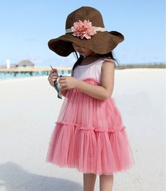 Rosy Pink Tulle Dress