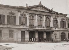 Teatro Santana - 1910 - Estava situado bem no atual cruzamento da 3 de Dezembro com a Boa Vista.