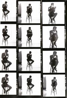 Sammy Davis, Jr. (1961, photos by Brian Duffy)