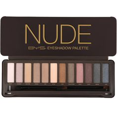 Make your eyes a masterpiece with this BYS Nude Eyeshadow Palette. This eyeshadow palette features 12 nude shades so you can mix and match to create easy natura Make Up Palette, My Beauty, Beauty Makeup, Eye Makeup, Beauty Room, Nude Eyeshadow, Eyeshadow Palette, Eyeshadows, Bys Maquillage
