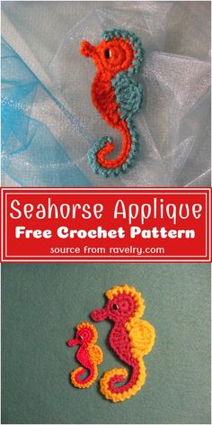 Crochet Applique Patterns Free, Graph Crochet, Crochet Fish, Thread Crochet, Crochet Patterns Amigurumi, Crochet Crafts, Easy Crochet, Crochet Flowers, Crochet Projects